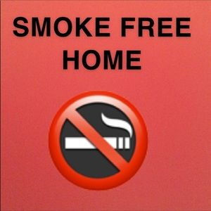 All items are from a smoke free home